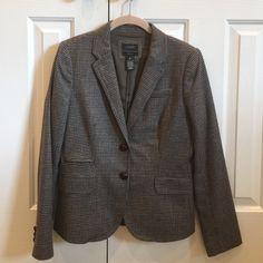 J. Crew Schoolboy Blazer J. Crew Mini Houndstooth Schoolboy Blazer Size: 6 Fabric: 100% Wool Body Lining: 100% Acetate EXCELLENT CONDITION J. Crew Jackets & Coats Blazers