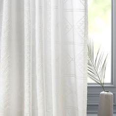 Sheer Clipped Jacquard Concentric Diamonds Curtain Purple Curtains, Ikea Curtains, Long Curtains, Burlap Curtains, Floral Curtains, Curtains Living, Velvet Curtains, White Curtains, Colorful Curtains