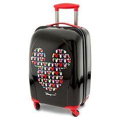 Around the World'' Mickey Mouse Luggage !''Magic Around the World'' Mickey Mouse Luggage ! Mickey Mouse Luggage, Disney Luggage, Mickey Minnie Mouse, Kids Luggage, Disney Vacations, Disney Trips, Vacation Trips, Disney Handbags, Disney Purse