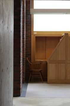 Reading Booth, Exeter Academy Library - Louis Kahn