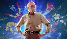 Happy 94th Birthday Stan Lee ~ Dec. 28, 1922... Stan Lee is an American comic-book writer, editor, publisher, media producer, television host, actor, and former president and chairman of Marvel Comics. https://en.m.wikipedia.org/wiki/Stan_Lee