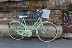 Fresh like a pistachio ice cream. Lady bicycle custom made, repainted in mint colour. Mint Color, Colour, Pistachio Ice Cream, Bicycle Women, Bicycles, Fresh, Instagram, Lady, Color