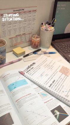 School Organization Notes, Study Organization, School Notes, Study Motivation Quotes, Work Motivation, Schul Survival Kits, Study Pictures, Mind Maps, Study Journal