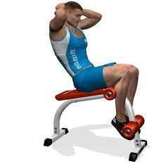 ROMAN BENCH CRUNCH INVOLVED MUSCLES DURING THE TRAINING ABDOMINALS
