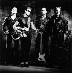 Social Distortion in concert, 1997