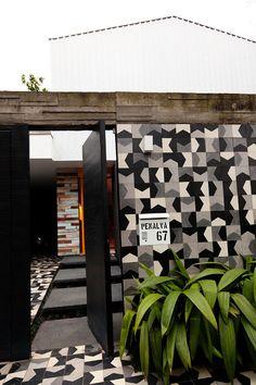 Cris and Marcelo Rosenbaum at Home in São Paulo - via http://bit.ly/epinner