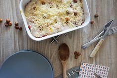 Un savoureux gratin à la courge butternut pour un repas cocooning et réconfortant. Vous allez craquer pour sa douceur et sa simplicité.