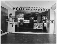 Installation view of the exhibition The Family of Man, on view January 24–May 8, 1955 at The Museum of Modern Art. Gelatin silver print. Photographic Archive, The Museum of Modern Art Archives, New York. Photo by Rolf Petersen. © 2010 The Museum of Modern Art, New York