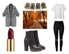 """""""Fall look 🍂"""" by yseultdel ❤ liked on Polyvore featuring Brunello Cucinelli, Uniqlo, Urban Decay, Fall and look"""