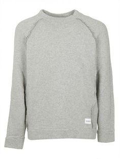 DONDUP Dondup Man Round-necked Sweater Grey Panait. #dondup #cloth #fleeces-tracksuits