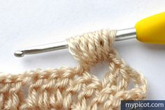 MyPicot is always looking for excellence and intends to be the most authentic, creative, and innovative advanced crochet laboratory in the world. Crochet Stitches Patterns, Stitch Patterns, Knitting Patterns, Crochet Jacket, Crochet Cardigan, Crochet Gratis, Free Crochet, Stitch 2, Stitch Design