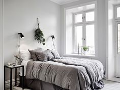 Bedroom Design And Decoration Tips And Ideas - Top Style Decor Master Bedroom Design, Home Bedroom, Bedroom Decor, Bedroom Ideas, Bedroom Storage, Bedroom Wall, Scandinavian Style Bedroom, Scandinavian Interior, Minimalist Scandinavian