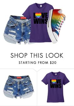 """Untitled #5010"" by kris-mathers ❤ liked on Polyvore featuring Converse"