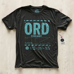 Chicago ORD T-Shirt Men's, $25, now featured on Fab.