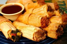 Besides the fact that Tamales are a truly deliicious Mexican delicacy, making a batch of tamales is a great excuse to gather in the kitchen with friends and family for a cooking session - Unlimited Vacation Club Tamales Recipe