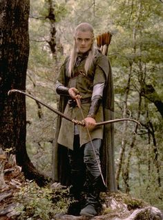 Coming in December: Orlando will reprise his Elven warrior character Legolas Greenleaf in the highly-anticipated two-part Hobbit films Orlando Bloom, Hobbit Films, O Hobbit, Hobbit Art, Jrr Tolkien, Fellowship Of The Ring, Lord Of The Rings, Types Of Elves, Lotr Elves