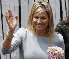 Máxima de Holanda sonriente durante su visita a Colombia y Perú