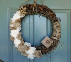 grapevine wreaths wedding | ... Wedding Decoration Wedding Wreath Alter Wreath. $46.00, via Etsy