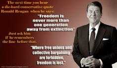 The Reagan Quote: Setting the Record Straight | Nomadic Politics