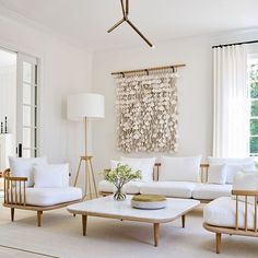A neutral palette is always a pretty good choice. Designed by: @marcoriccastudio Photographed by: @sissyandmarley Rugs In Living Room, Living Room Decor, Neutral Palette, Pretty Good, Beige Area Rugs, Colorful Rugs, Table, Projects, House