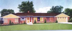 1960s house styles   1960's Ranch Style   For the Home
