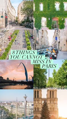 The top 8 things you should not miss while visiting the city of love!