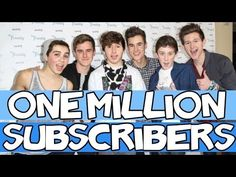 O2L REACTING TO ONE MILLION SUBSCRIBERS - YouTube. I'm literally crying.