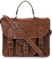 Sandbank Leather Satchel Handbag Of The Day