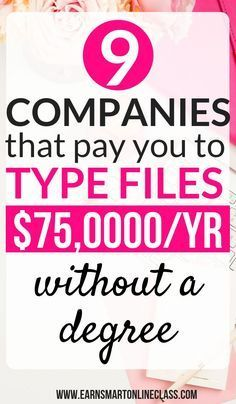 Looking for companies that pay beginners to type from home Heres a list of 9 transcription companies that will pay you to type files from the comfort of your home and mak. Earn Money From Home, Earn Money Online, Way To Make Money, Money Fast, Making Money From Home, Win Money, Work From Home Opportunities, Work From Home Jobs, Internet Jobs From Home