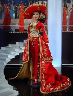 Miss Mexico Barbie 2013