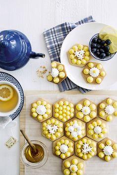 Recette créative : des tartelettes miel-citron décorées de meringue - Marie Claire