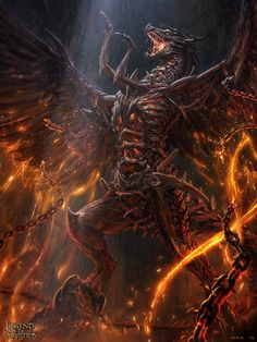 Here is Iron Dragon,when his body had build up, He try to fly outside the mine,start to burn all of the world.