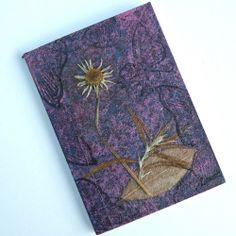 Reaching White Rays - A Nature Inspired Mini Notebook   walkinthewoodsllc - Paper/Books on ArtFire