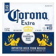 Buy Corona Extra Beer 355ml Bottles 12pk Online At Countdown Co Nz Beer Logo Beer Images Beer Logo Design