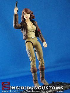 Custom G.I.Joe Cover Girl.