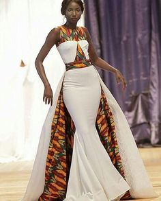 jadoreafrica African Dress with Cape / African Dresses / African Maxi Dress / African Clothing / Ankara Maxi Dress / African Prom Dress / African Print African Wedding Attire, African Attire, African Wear, African Style, African Dress Styles, African Weddings, African Print Wedding Dress, African Women, Ankara Styles