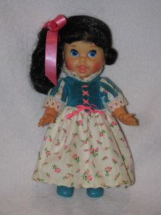 """10"""" Vintage Mattel Storybook Snow White Small Talk Doll in Dolls & Bears, Dolls, By Brand, Company, Character 