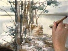 Видео-курс Пейзаж. Времена года. 6 видео уроков с коментариями автора. Этот и…
