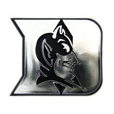 NCAA Duke Blue Devils Chrome Automobile Emblem