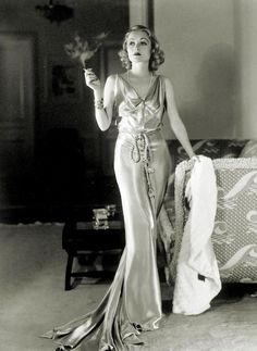 Constance Bennett; who's more perfect, Joan or Constance? (Rhetorical question.)
