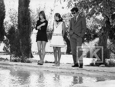 ROMY SCHNEIDER Alain DELON JANE BIRKIN La PISCINE Tournage Deray Photo 1968