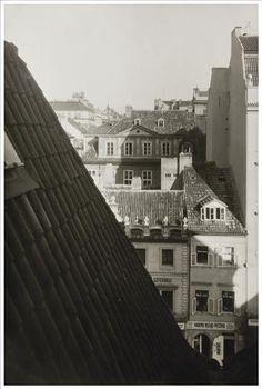 Josef Sudek (1896-1976)    Title: Rooftop View, ca. 1940