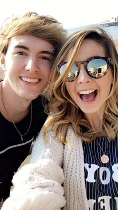 Zoë and Mark, these two are so funny when they are together