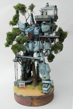 Gundam Mk-II The Watch Tower | Gundam Century