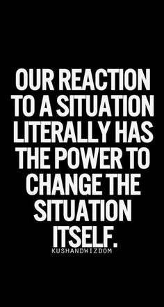 Our reaction has power.