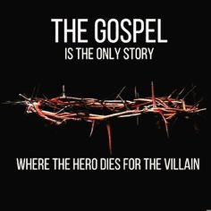 In the gospel is Jesus the only hero who died for the villains . Bible Verses Quotes, Faith Quotes, True Quotes, Scriptures, Funny Jesus Quotes, Blah Quotes, Qoutes, Christian Humor, Christian Life