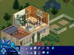 Sims Games, Sims Ideas, Sims 1, House 2, Mansions, House Styles, Home Decor, Decoration Home, Manor Houses