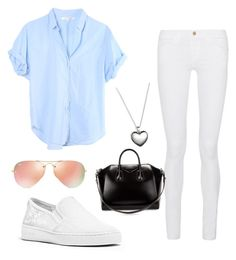 """Unbenannt #31"" by wantyousobad on Polyvore featuring Mode, Xirena, Frame Denim, Michael Kors, Givenchy, Ray-Ban und Pandora"