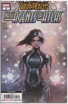 Artgerm Variant AERO #1 Keng Main New Agents of Atlas Marvel 2019 NM