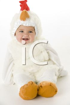 iPHOTOS.com - Royalty Free Photo of a Baby in a Chicken Costume hahaha So cute!